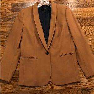Camel J. Crew Regent Blazer, Size 8